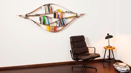 红点奖点名:Chuck书架——每一次摆放书籍都是满满的艺术气质