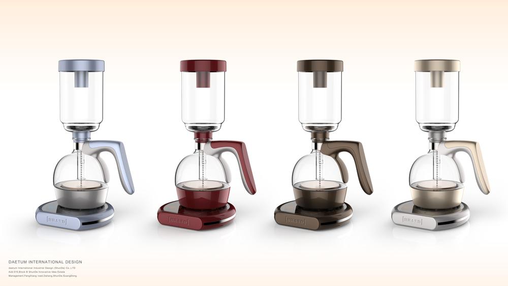 虹吸式咖啡壶设计